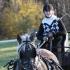 Mariliis Õunapuu, hobune on Roona.