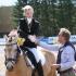 Rokit ja Marii-Heleen Raidmets - ponide koolisõidu hõbedad